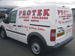 Digital print and cut livery